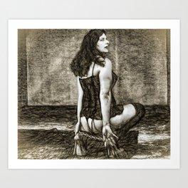 Ex/tasy #3 Art Print
