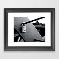 Love Locks 2012 16 Framed Art Print