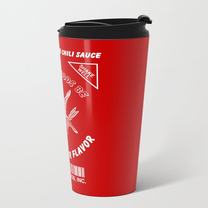 May The Odds Be Ever In Your Flavor Metal Travel Mug