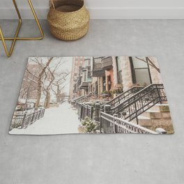Chicago Snow Day Rug