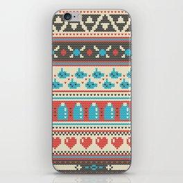Fair-Hyle Knit iPhone Skin