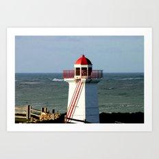 Lady Bay Lower Lighthouse  Art Print