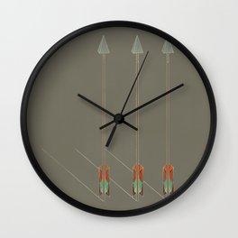 3 Arrows Wall Clock