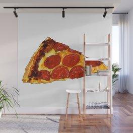 Pepperoni Pizza Wall Mural
