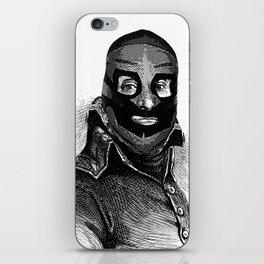 Wrestling mask 3 iPhone Skin