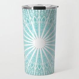 Mint Mandala Travel Mug