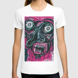 Pink Crazy Fella T-shirt