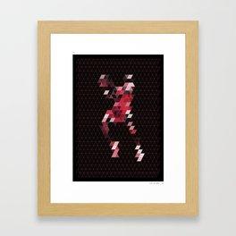 PIXEL ART MJ II Framed Art Print