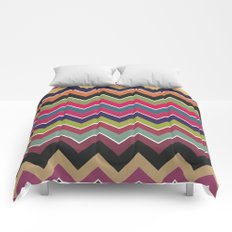 Colorful Wave Comforters