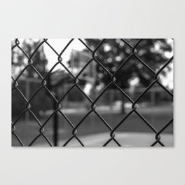 The Sideline Story Canvas Print