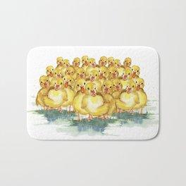 Little Duck Family Bath Mat