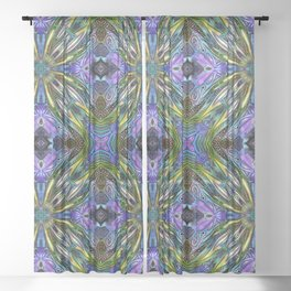 Rainbow Body Stargate Sheer Curtain