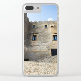 Spanish Building Clear iPhone Case