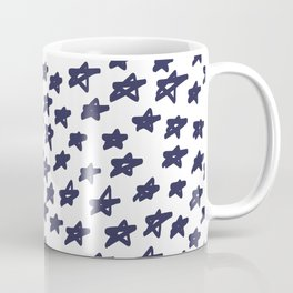 Blue Stars Coffee Mug
