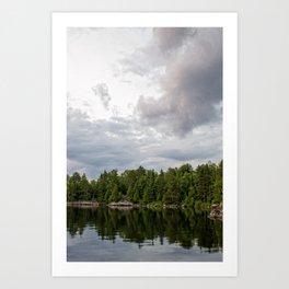 Boundary Waters Landscape Art Print