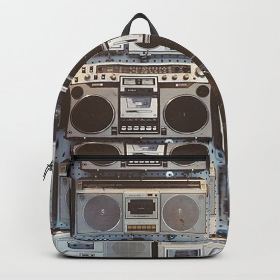 Boom boxes Backpack