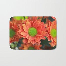 Sunflower Orange Bath Mat