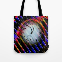 Abstract - Perfection- Time is running Tote Bag