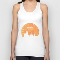 hogwarts Tank Tops featuring Hogwarts by IA Apparel