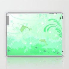 Dolphins Swimming Laptop & iPad Skin