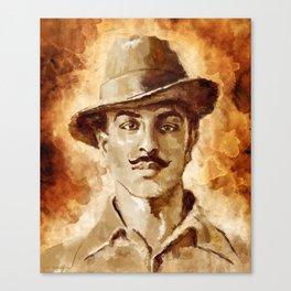 Shaheed-E-Azam Bhagat Singh Canvas Print
