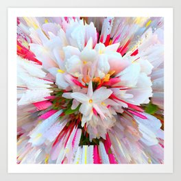 Flowers of  Pure Love Essence Art Print
