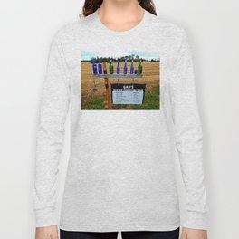 Gar's Weather Forecasting Stone Long Sleeve T-shirt