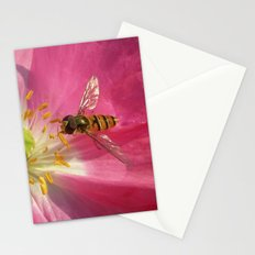 flower fly macro VII Stationery Cards