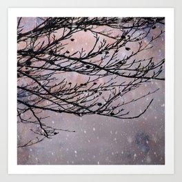 Dusky Winter Days Art Print