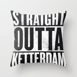 Straight Outta Ketterdam Throw Pillow