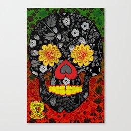 Russian Sugar Skull Canvas Print