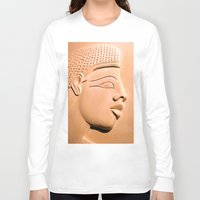 egyptian Long Sleeve T-shirts featuring Egyptian Beauty by Brian Raggatt