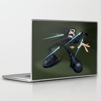 matrix Laptop & iPad Skins featuring Matrix by alexviveros.net