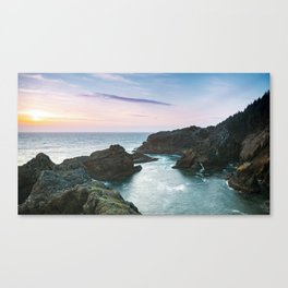 Sunset at Oregon's Indian Sands Canvas Print
