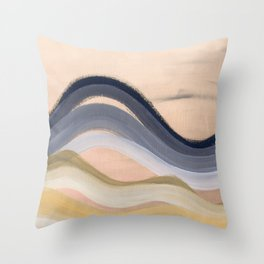 Minimal montains Throw Pillow