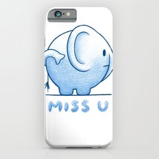blue elephant Slim Case iPhone 6s