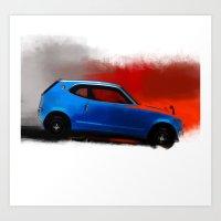 honda Art Prints featuring Honda Z by Vadim Artemyev