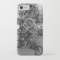 bikes iPhone & iPod Cases featuring Bikes by DarkMikeRys