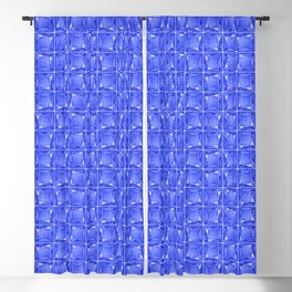 Be who you are, you're a gem in sapphire blue Blackout Curtain