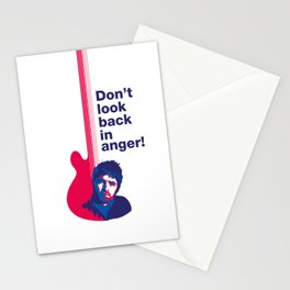 Noel Gallagher - Don't Look Back In Anger Stationery Cards