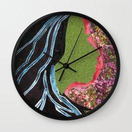 Black Hair Lady Wall Clock
