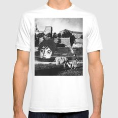 doherty White SMALL Mens Fitted Tee