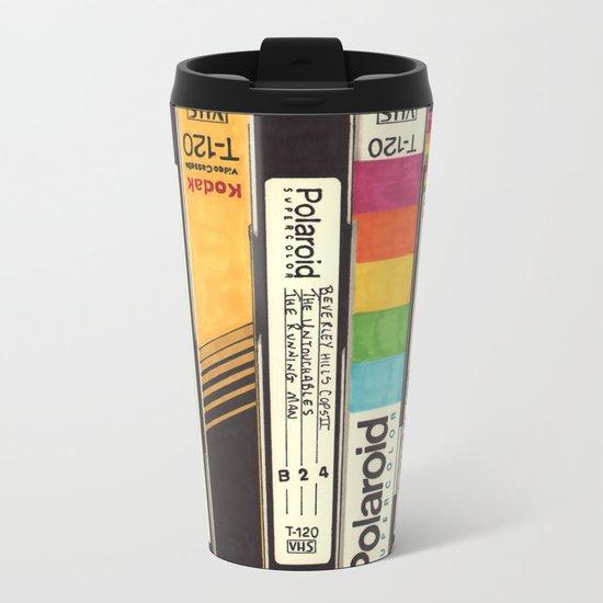 VHS Detail Metal Travel Mug