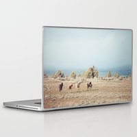 oregon Laptop & iPad Skins featuring Oregon Wilderness Horses by Kevin Russ