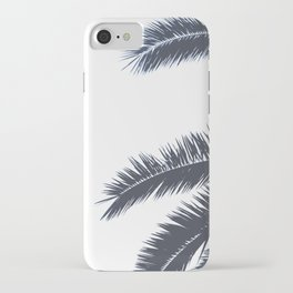 Palm Tree leaves abstract III iPhone Case