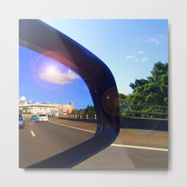 Rear Vision II Metal Print