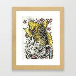 upstream Framed Art Print