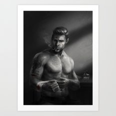 DA Noire - Alistair Art Print