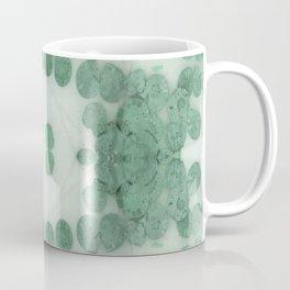 Sea Shell Disco Teal Coffee Mug