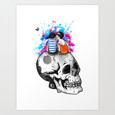 Love, hate, tragedy... Art Print